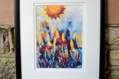 Spring. Print framed. The original sold but this is a giclee print on paper, framed £80 and unframed £30.