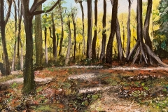 """New Forest. 12"""" x 10"""". £70. [SOLD, BUT CAN PAINT SIMILAR]."""