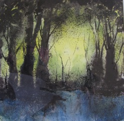 Sunlit Trees.