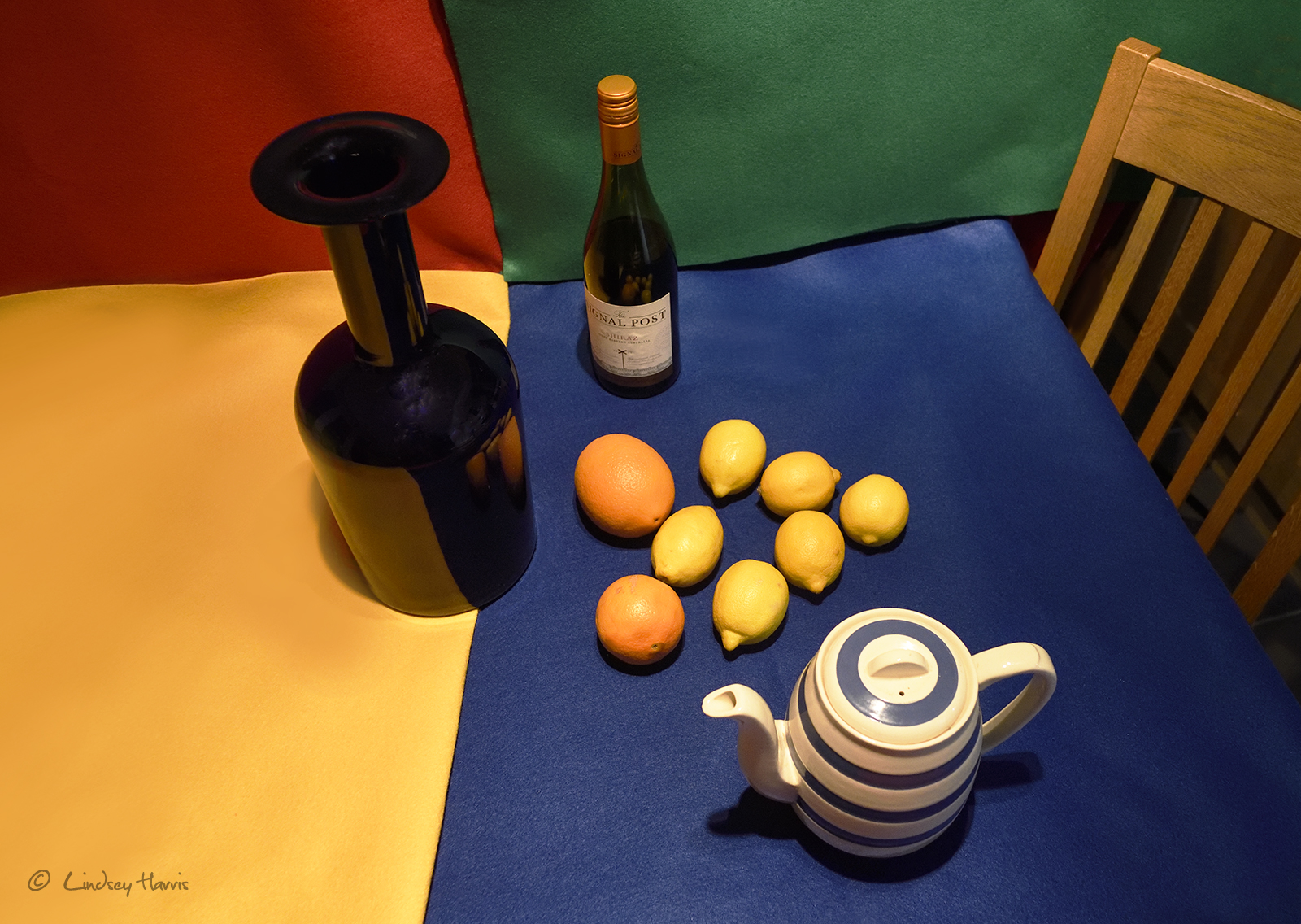Original photo for Matisse style cut out still life photography class 17th March 2018, Holt, Dorset.