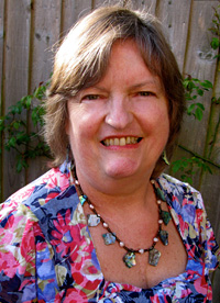 Photo of artist and art teacher Penny Wilton.