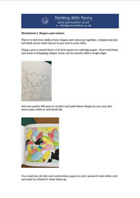 Worksheet 2 - Shapes and Colours.
