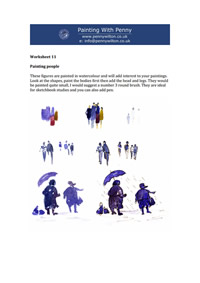 Worksheet 11 - drawing people.