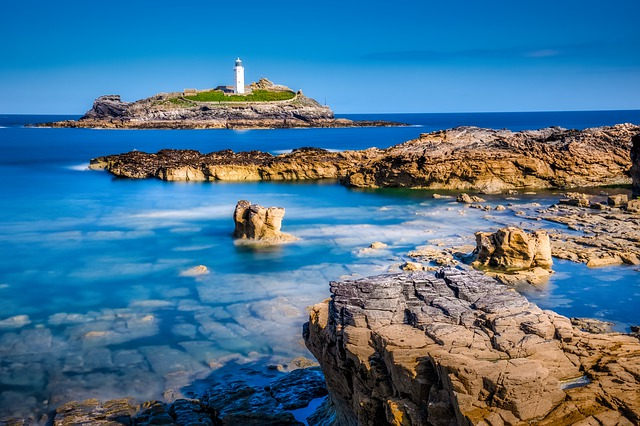 Godrevy Lighthouse, Cornwall.